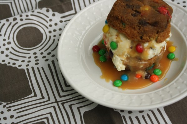 Everything Ice Cream Cookie Sandwich - My Chicken Fried Life