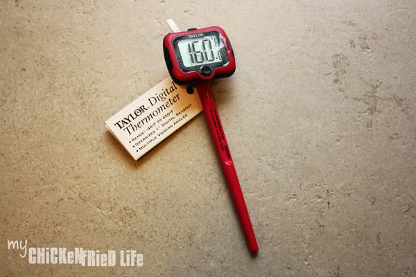 Giveaway Thermometer