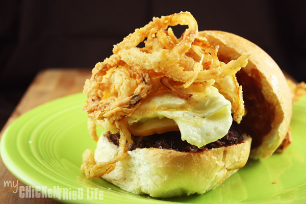 Ampersand Burger - My Chicken Fried Life
