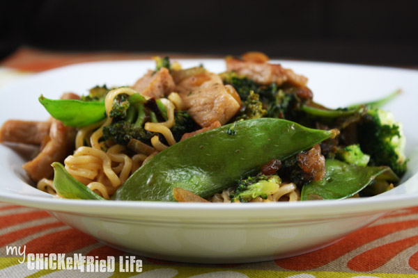 Ramen Stir Fry - My Chicken Fried Life