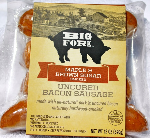 Big Fork Bacon Sausage