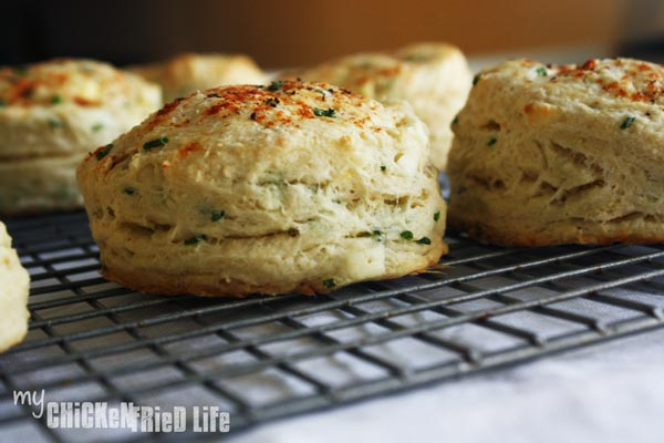 Feta and Chive Scones - My Chicken Fried Life
