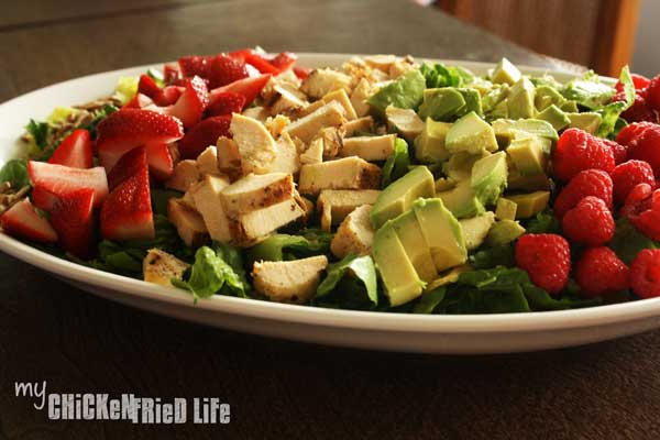 Summer Chopped Salad - My Chicken Fried Life