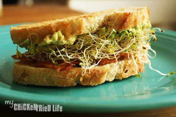 Bacon Avocado Sandwiches