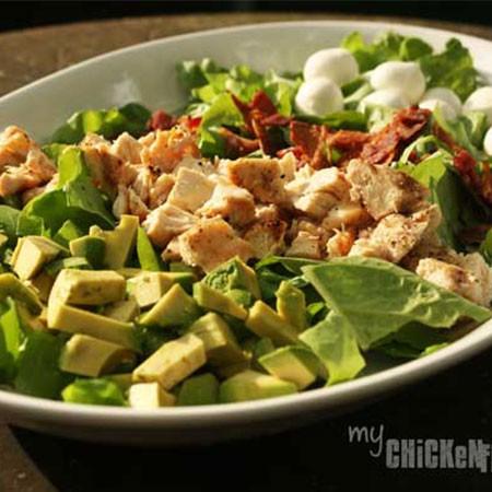 Bacon and Avocado Chopped Salad